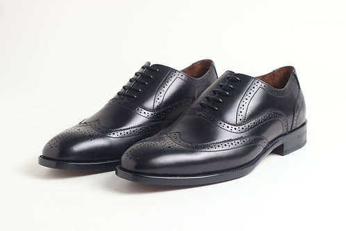 Black Leather Business Shoes