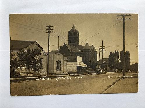 Cheboygan, MI - Main Street
