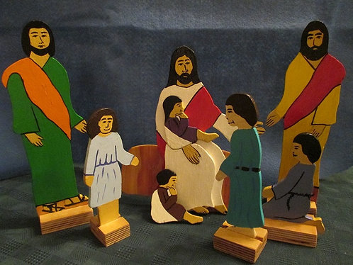Jesus and the Children: Mark 10:13-16 - HandsOn Bible