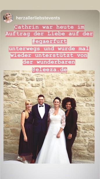 Hochzeitssängerin Erfurt Herzallerliebst Events