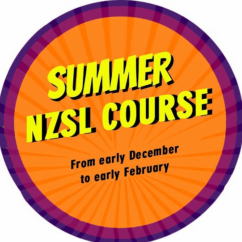 NZSL Summer Course- North Shore
