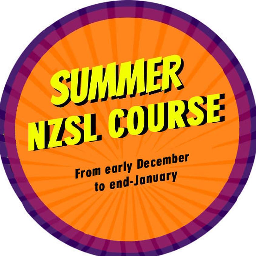 NZSL Summer Course- East Auckland