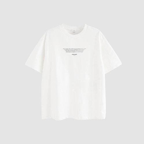 Tričko One Unisex Cream