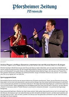 2017 Pforzheimer Zeitung