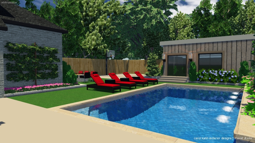 3D DESIGN OF BACKYARD