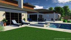 3D PATIOS AND POOL