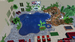 3D INDOOR POOL DESIGN
