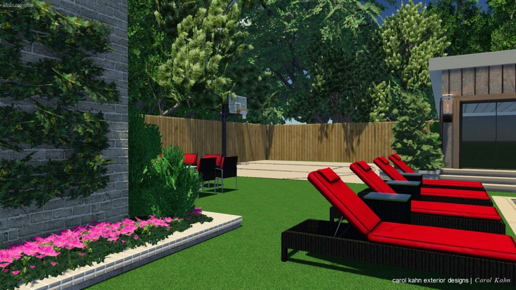 3D DESIGN OF BACK YARD