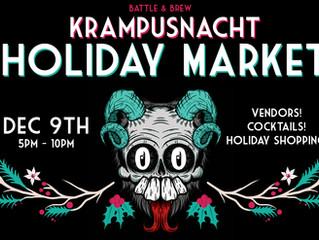 Krampusnacht Holiday Market
