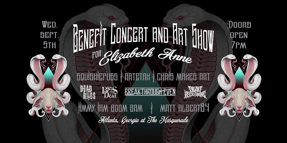 Benefit Concert and Art Show for Elizabeth Anne