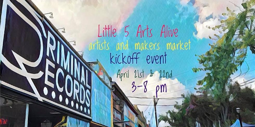 Little Five Arts Alive: Kickoff