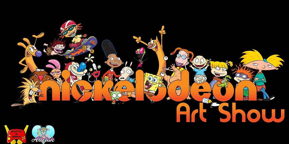 Nickelodeon Art Show