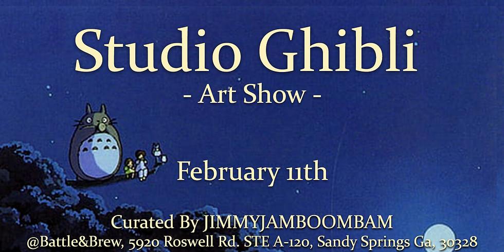 Studio Ghibli - Art Show