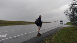 A Pilgrim on the Way against the Grey