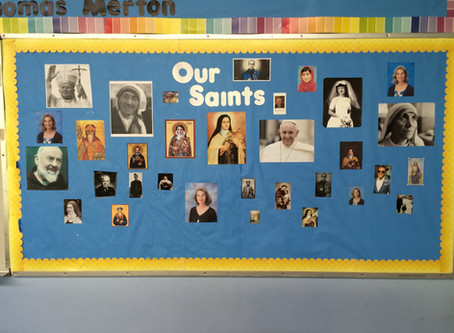Who's on Your Saint Wall?