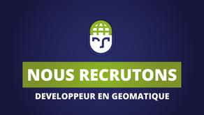 GEOSAPIENS RECRUTE - Développeur en géomatique H/F