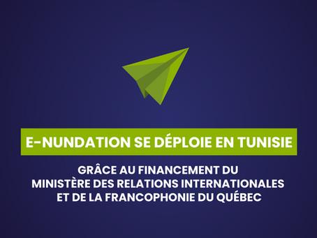 GEOSAPIENS DÉPLOIE SA SOLUTION E-NUNDATION EN TUNISIE