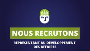 GEOSAPIENS RECRUTE - Représentant au développement des affaires  H/F