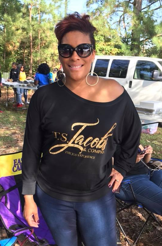 Picture of Toya Jacobs, interior decorator and personal stylist of TS Jacobs and Company.