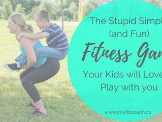 The Stupid Simple (and fun) Fitness Game your Kids will love to Play with you