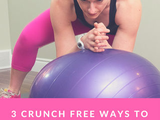 3 Crunch Free Ways to Work your Core