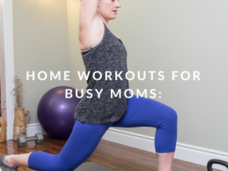Home Workouts for Busy Moms: The Top 5 Fitness Tools to get you Started
