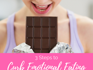 3 Steps to Curb Emotional Eating