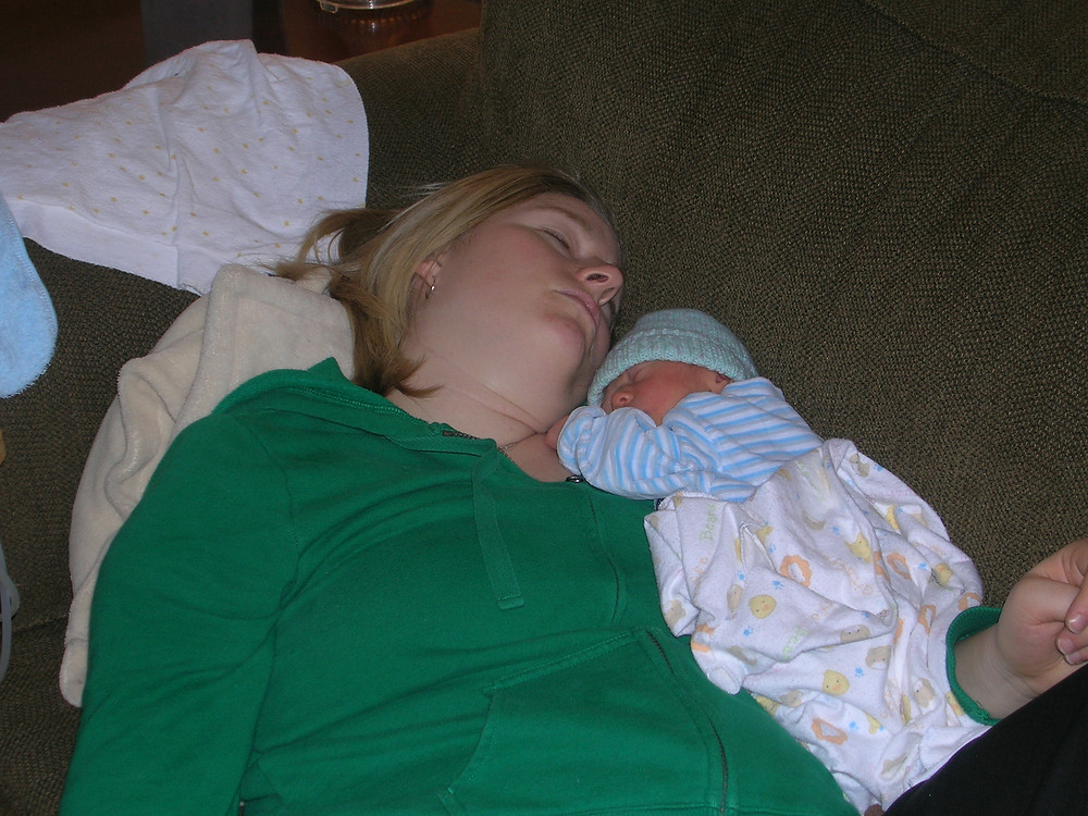 Charlie and I napping it out. Thanks Jay Holmes for the ultra flattering photo