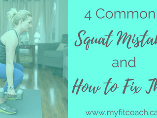 4 Common Squat Mistakes AND How to Fix Them