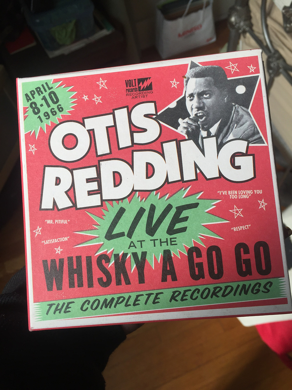 it's official: Grammy Nomination for Otis Redding Live at the Whisky A Go Go