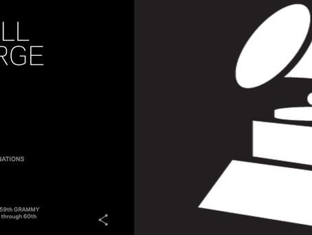 Grammy  news, (Yes, Grammy)