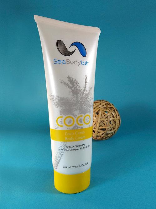 Crema Corporal Coco Citrus, 226 ml.