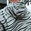 Thumbnail: Reflective Tiger Striped Rain Jacket
