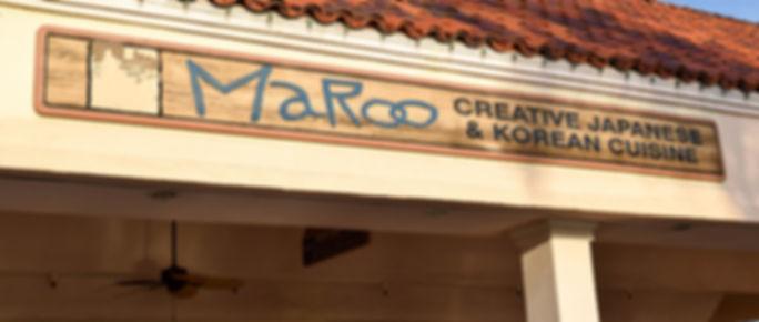Maroo Creative Japanese & Korean Cuisine
