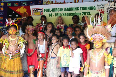 Papua New Guinea embraces Full-Circle Learning