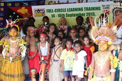 Papua New Guinea embraces Full-Circle Learning