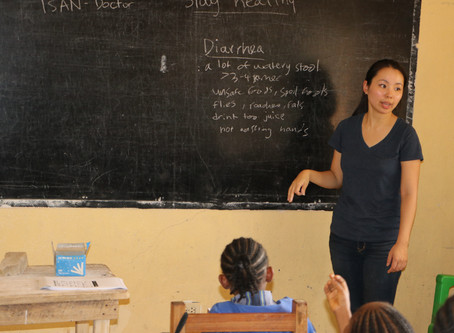 Liberia FCL Students Become  Health-Care Advocates