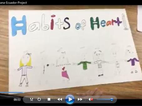 Tarzana's Ecuador Project Video and Habits of Heart 2015 Summary