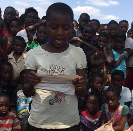 Video: Zambian Children Bring Gratitude to FCL