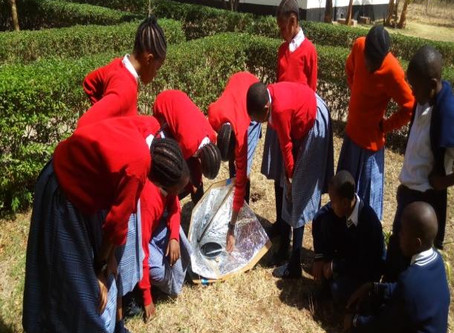 Tanzania School Experiments with Solar Cookers