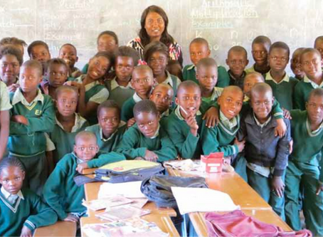Zambian Schools Influence the Infrastructure of Communities