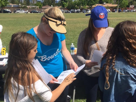 Tarzana FCL Habits-of-Heart Club Members Taught their Neighborhood to Conserve Water