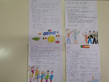 Letters to new friends from Spain