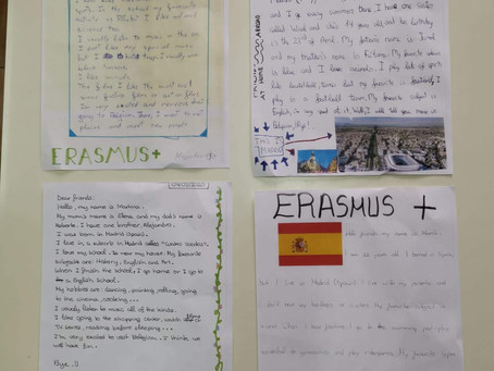 Letters from the Exchange-students of Spain