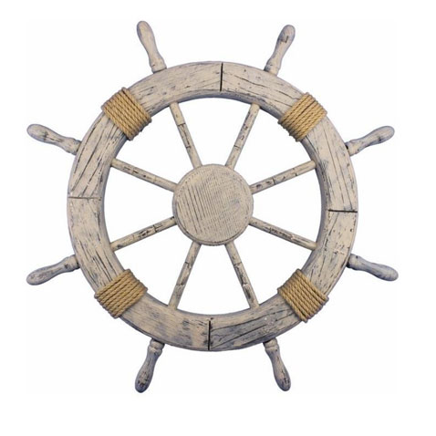 Ship Wheels & Clocks