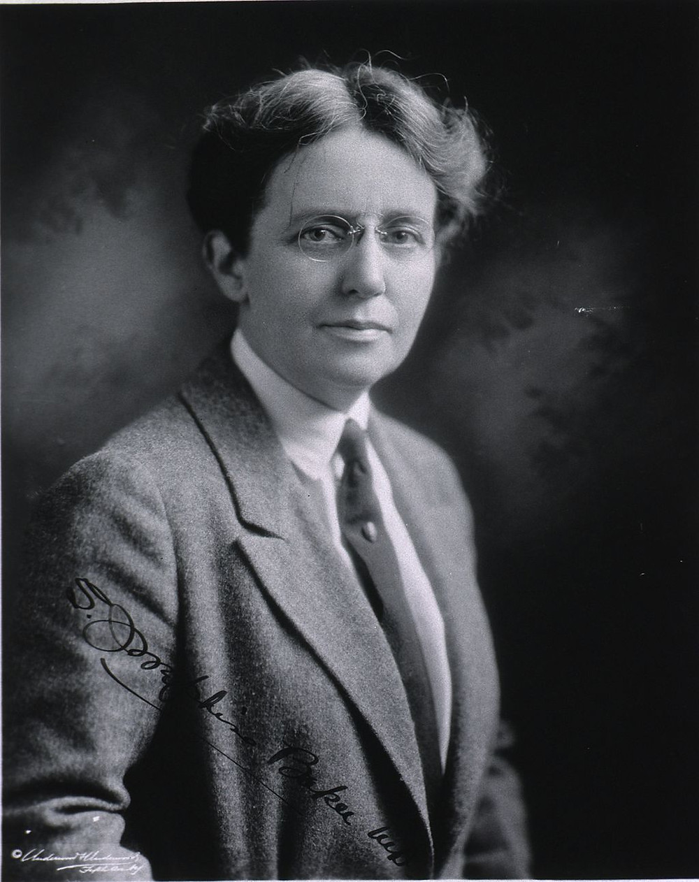 Dr Sara Josphine Baker MD. Source: Wikimedia