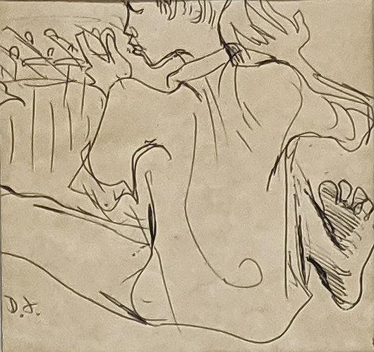 """""""Musician I"""" (c.1970)"""