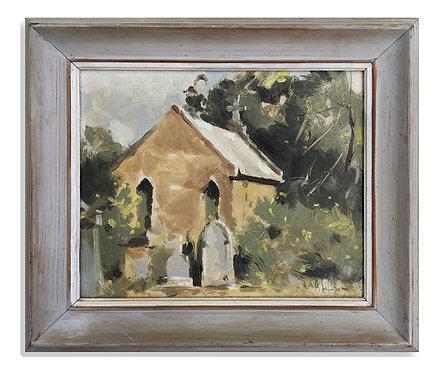 """""""Cemetery"""" (c.1950)"""