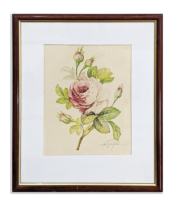 """Three Flower Studies"" (c.1950)"