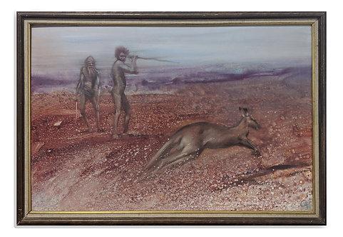 """Kangaroo Hunt"" (c.1980)"